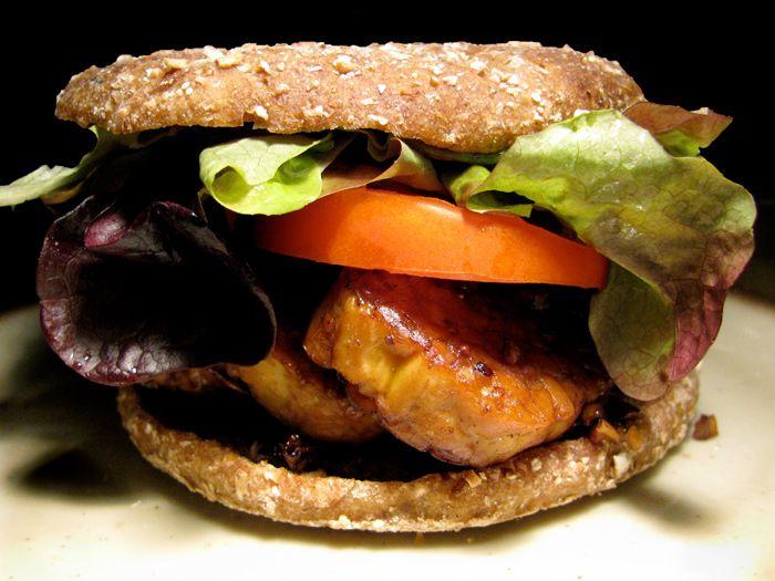 TLT - Tempeh Lettuce Tomato Sandwich - The Lotus and the Artichoke ...