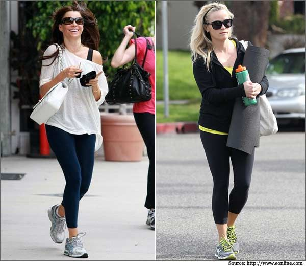Celebs-Who-Practice-What to wear to Yoga