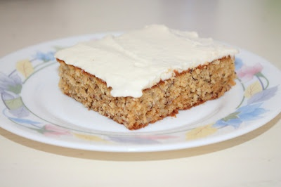 Easy Banana Sheet Cake | What I cook | Pinterest