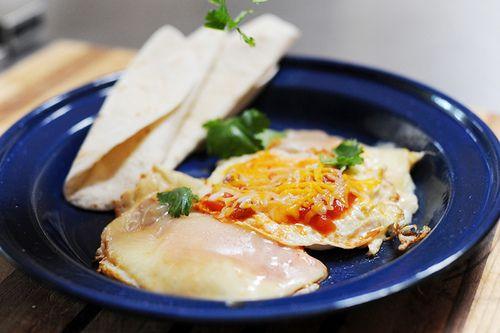 My favorite breakfast - Huevos Ree-os!