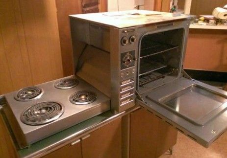 Countertop Height Range : ... countertop-height Hotpoint oven with hideaway fold-down electric range