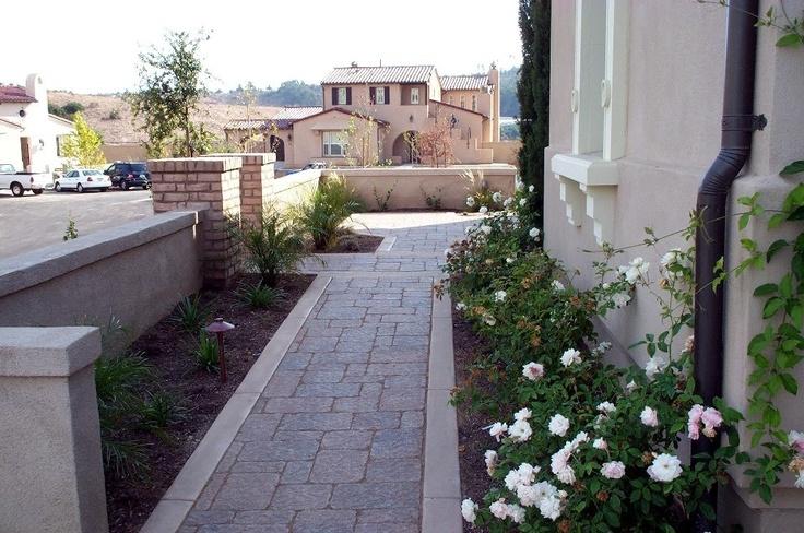 Landscaping Ideas Along Side Of House : Walkway along side house idea gardening