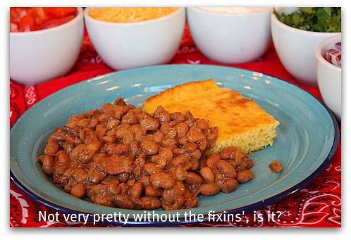 Beans and Cornbread (from The Pioneer Woman Cooks