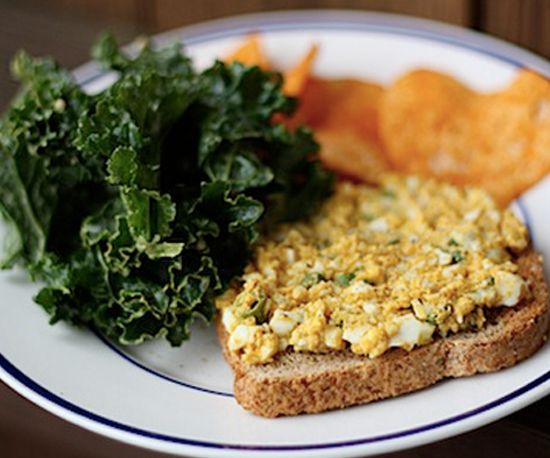 Curried Egg Salad: Whether spread between whole-wheat bread or topping ...