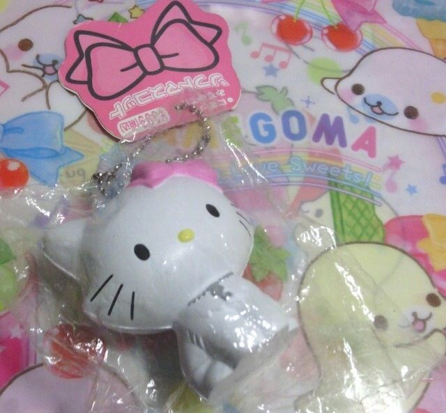 Rare Marie x Hello Kitty squishy. Things That Complete Me [2014]