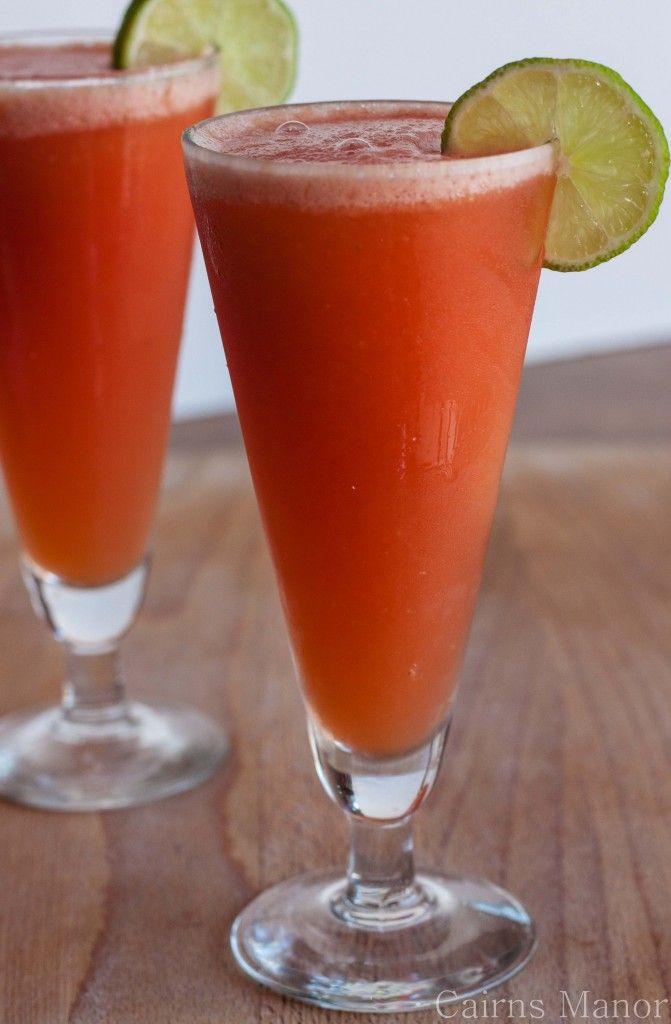 Watermelon Slush | Recipe - Obey Your Thirst | Pinterest