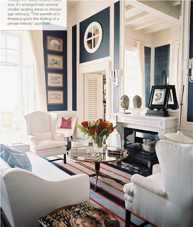 Red White And Blue Living Room Luscious Rooms Pinterest