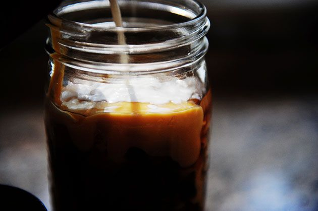 ICED COFFEE--easy, cheap, and delicious! I'm not even kidding--this ...