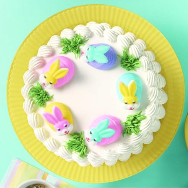 Dairy Queen Easter cake!