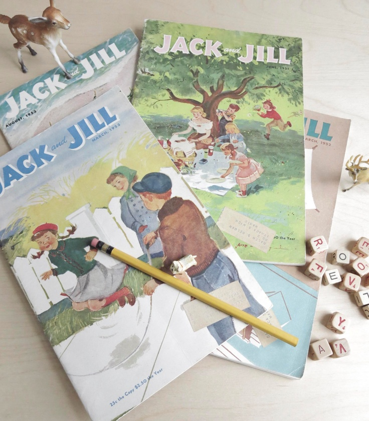 jack and jill / 1950s children's magazine collection