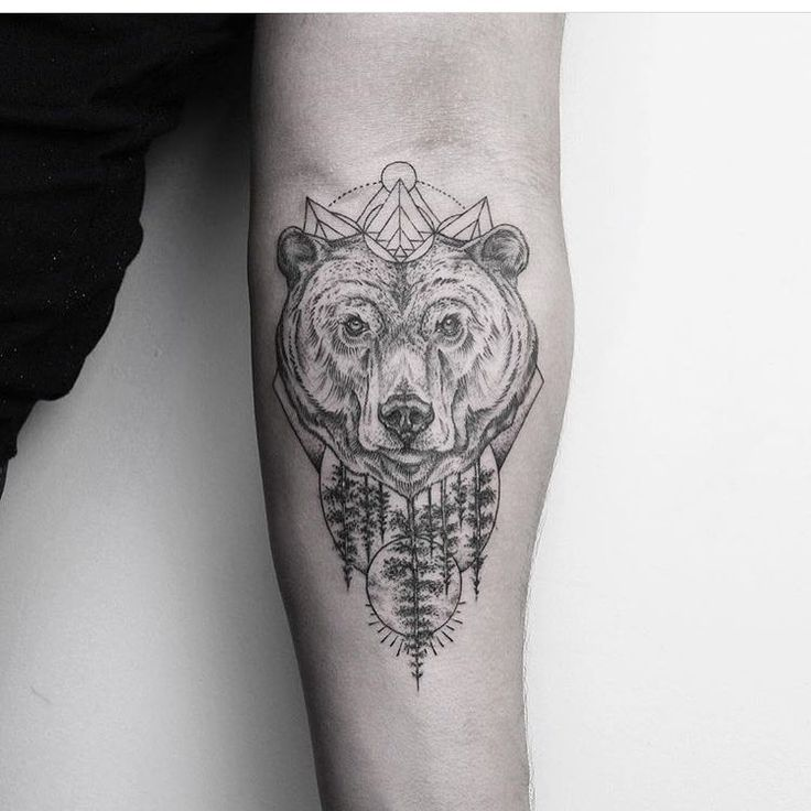 Bear Tattoo Meanings  iTattooDesignscom