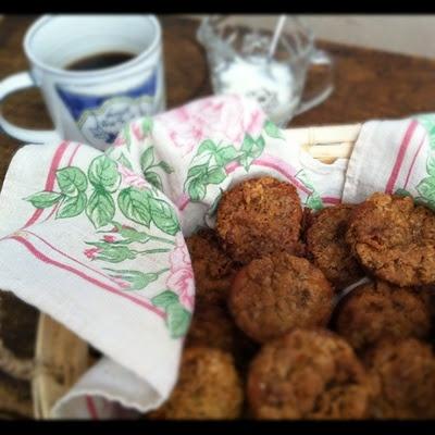 gluten free vegan pumpkin streusel muffins