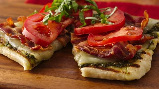 ... Grilled Summer Sandwich - Here's a twist on a BLT made on the grill