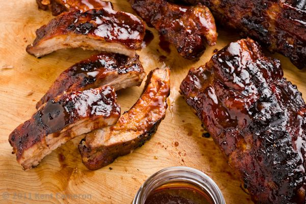 Baby ribs ribs the short cut way, start in the oven and finish on the ...