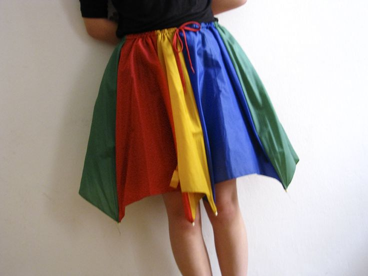 Umbrella skirt | DIY wear | Pinterest