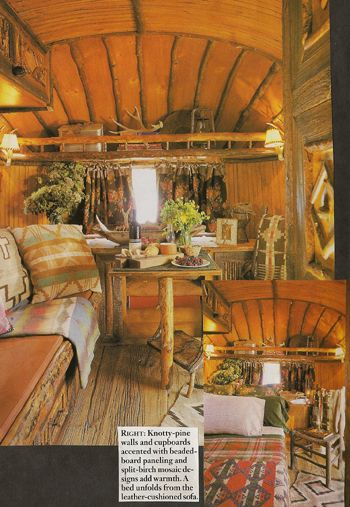 Brilliant 15 Cool Mobile Homes  Trailers Interiors  Decoholic