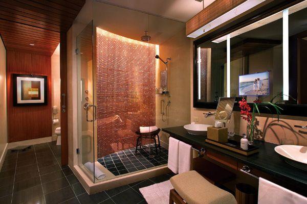 Douche moderne salle de bain pinterest for Salle bain design italienne
