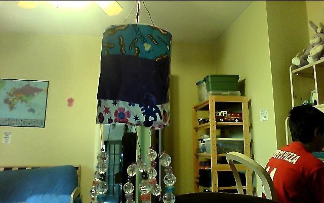 diy locker chandelier | Projects to Try | Pinterest