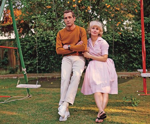 Celeb couple inspiration-Paul Newman and Joanne Woodward married 50 years-quite an accomplishment for anyone especially celebs <3