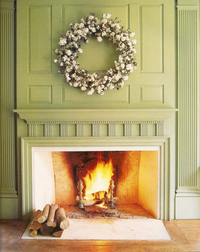MARTHA MOMENTS: Remembering: Great American Wreaths- Cotton Blossom Wreath