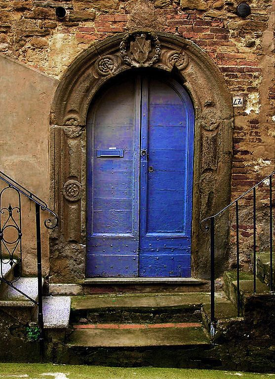 Panicale Italy  city pictures gallery : Blue Door Panicale, Perugia, Italy by Lorenzo Gizzi on Fotoblur
