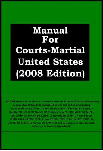 Manual For Court Martial