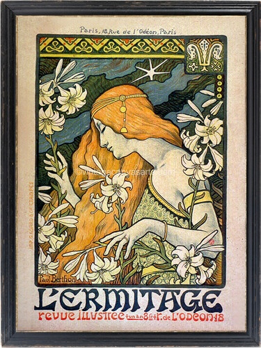 Art Nouveau Vintage French Decor Home Decor Pinterest