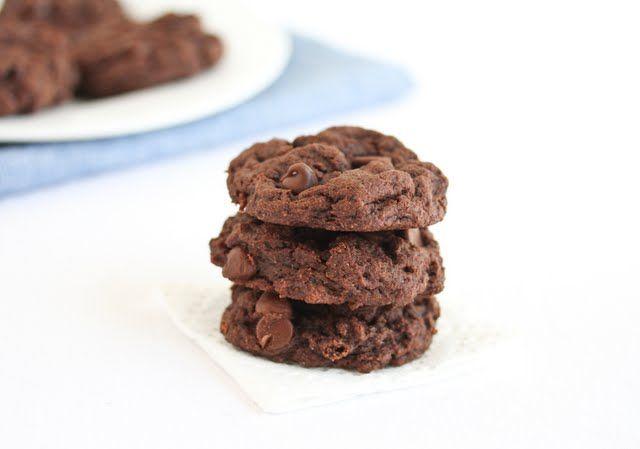 3-Ingredient Fudgy Chocolate Cookies