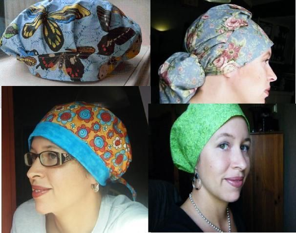 Ladies Scrub Hat Sewing Patterns | must make | Pinterest
