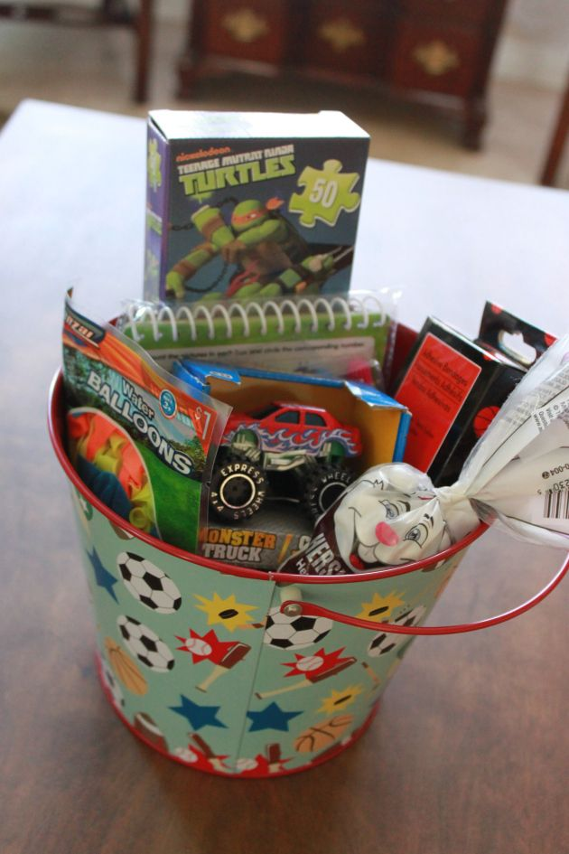 Awesome Birthday Gift Baskets : Cool boy s easter basket birthday gift
