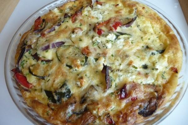 Roasted Vegetable And Gruyere Quiche Recipe - Food.com - 129250