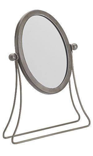 Countertop Mirror : Boutique countertop mirror - raw steel - 60545