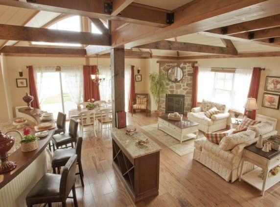 Les maisons bonneville maisons usin es chalet pinterest - Plan renovation maison ...