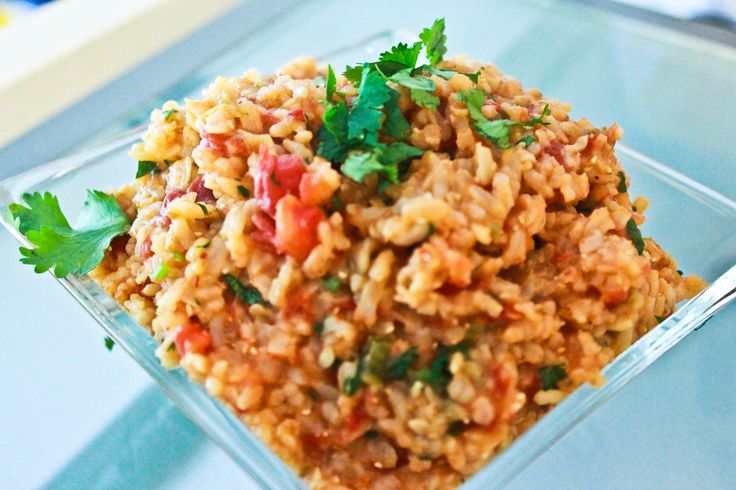 Spanish Brown Rice (http://recipes.sparkpeople.com/recipe-detail.asp ...
