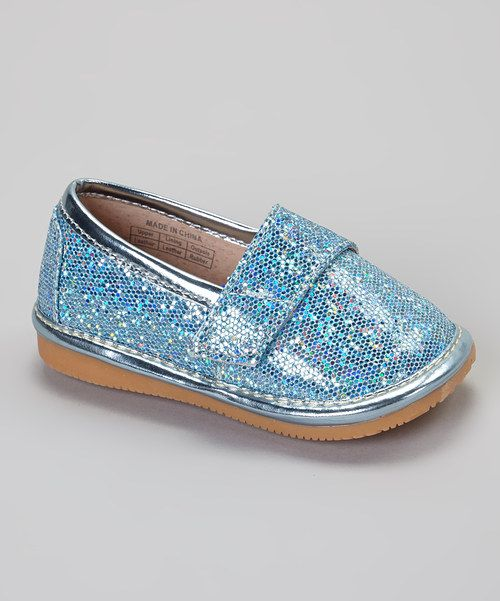 Sparkle Leather Squeaker Shoe by AMC Boutique #zulily #zulilyfinds