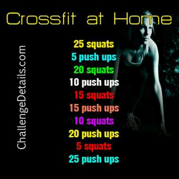 Crossfit At Home Bootcamp Workouts Pinterest