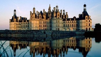 chambord chateau, France.