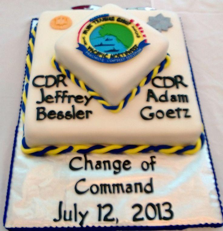 change of command cake ideas