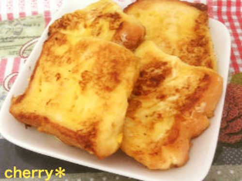 Made With Frozen Bread! Easy and Fluffy French Toast | Recipe