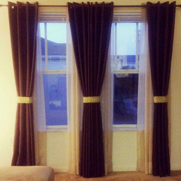 Curtain Ideas Living Room Pinterest