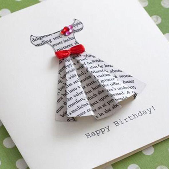 Сделать оригинальный подарок на день рождения своими руками