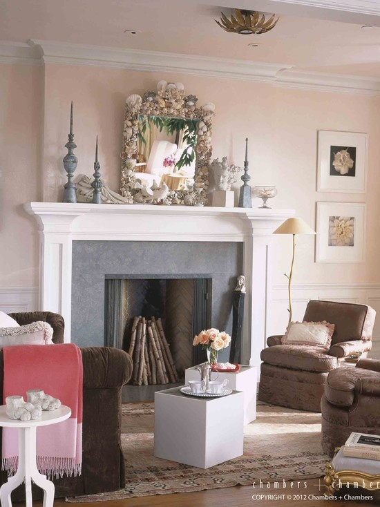Pale Pink Walls Living Room Pinterest