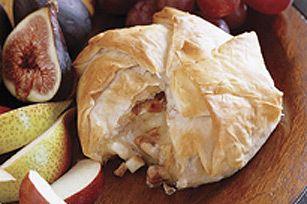 Maple Pecan Apple Stuffed Brie | Comida | Pinterest