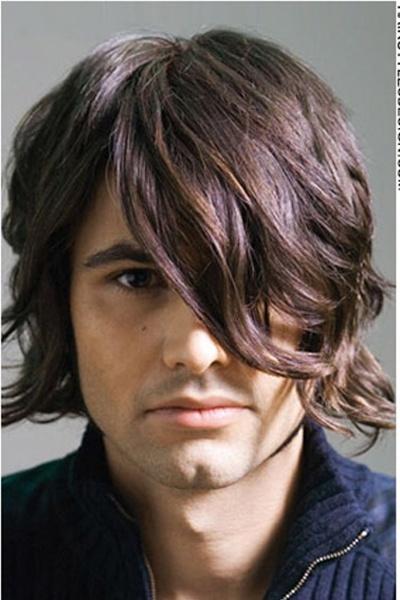 Galerry mens hairstyle medium wavy