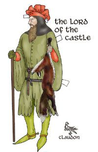 The Lady and Sir Gawain Green Knight