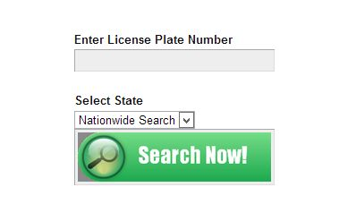 Vin number lookup with license plate xo4ez