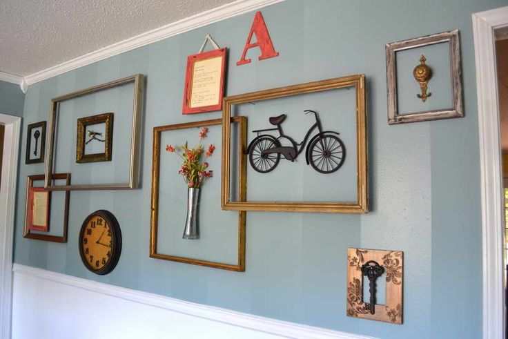 with diy ideas picture frame wall clock decoration pinterest. Black Bedroom Furniture Sets. Home Design Ideas