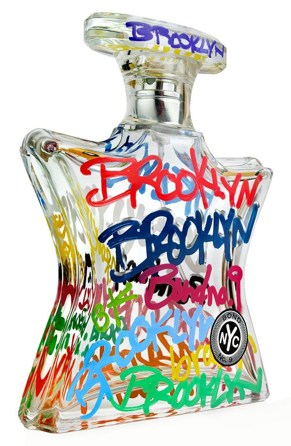 Bond No. 9 Brooklyn Fragrance. Love this just for the bottle.