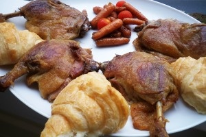 Duck Leg Confit: Slow-cooked in rendered fat, this recipe demands ...