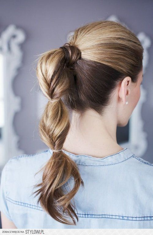 Twisted Ponytail #hair